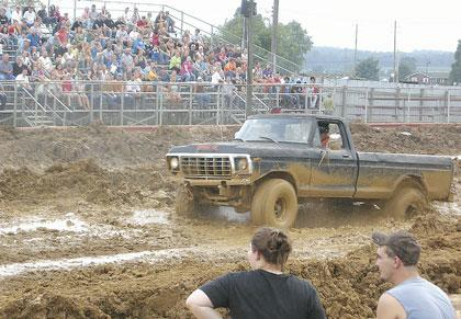 Mud Drag Racing